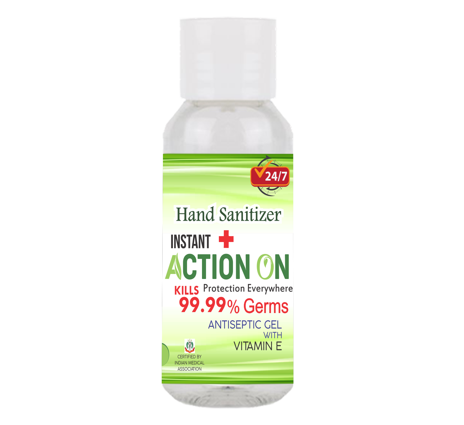 ACTION ON HAND SANITIZER